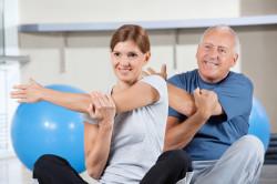 Оздоровительная физкультура при остеохондрозе