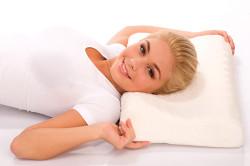 Ортопедическая подушка при боли в шее