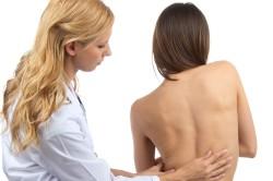 Диагностика сколиоза врачом