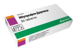 Ибупрофен при болях в шее