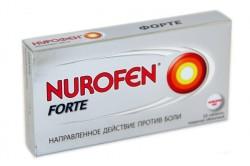 Нурофен для лечения боли в спине