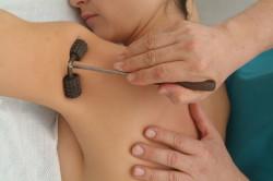 Роликовый массажер для спины