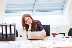 Сидячая работа - причина межпозвоночной грыжи