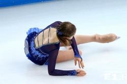Травмирование копчика на льду