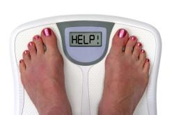 Лишний вес - причина боли в пояснице справа