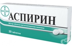 Аспирин при хрусте в лопатке