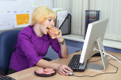 Малоподвижный образ жизни - причина шейного остеохондроза
