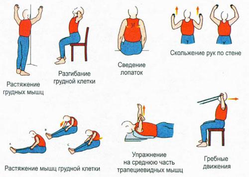 Физические упражнения для развития осанки