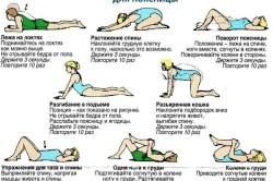 Упражнения на гибкость для поясницы