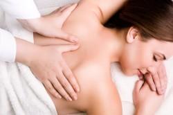 Ручной массаж спины
