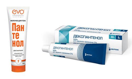 Устранить воспалительные процессы кожи, заживить раны помогут Пантенол и Декспантенол