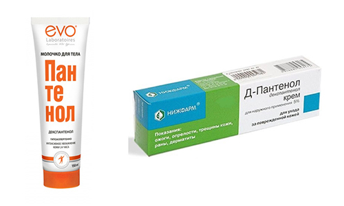 У людей с повреждениями кожных покровов, лучше применять: Пантенол или Д-Пантенол