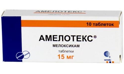 Амелотекс блокирует воспалительные процессы в тканях, снижает температуру, купирует болевой синдром
