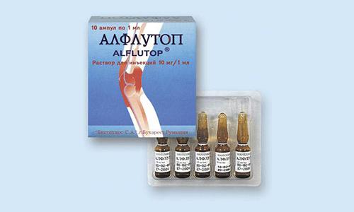 Алфлутоп производится на основе биоактивного концентрата, полученного из мелкой морской рыбы